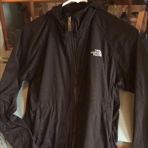 North Face women's black jacket - medium